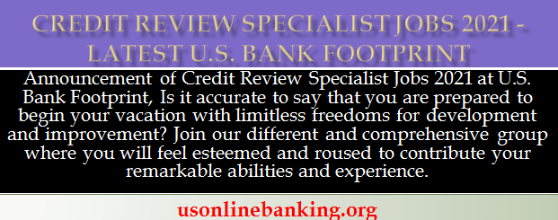 Credit Review Specialist Jobs